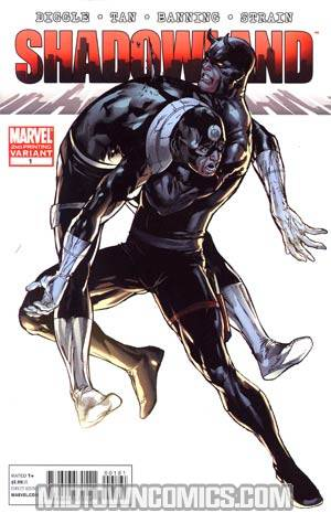 Shadowland #1 2nd Ptg Bullseye Assault Variant Cover