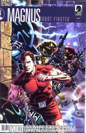 Magnus Robot Fighter Vol 3 #1 Incentive Bill Reinhold Variant Cover