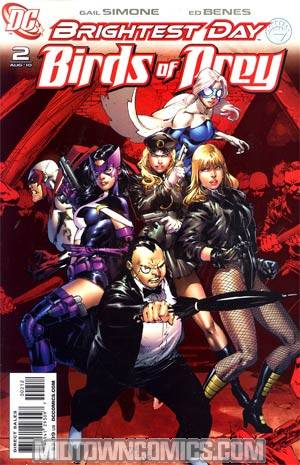 Birds Of Prey Vol 2 #2 2nd Ptg (Brightest Day Tie-In)