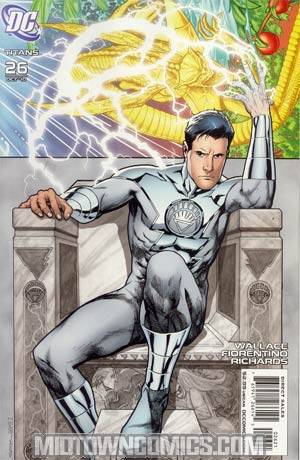 Titans Vol 2 #26 Incentive White Lantern Variant Cover (Brightest Day Tie-In)