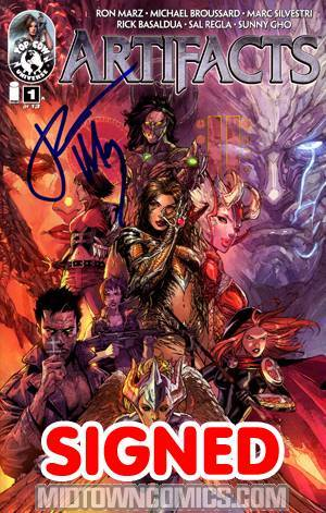 Artifacts #1 1st Ptg Cvr A Top Cow Jam Signed By Ron Marz