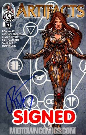 Artifacts #1 1st Ptg Cvr B John Tyler Christopher Signed By Ron Marz