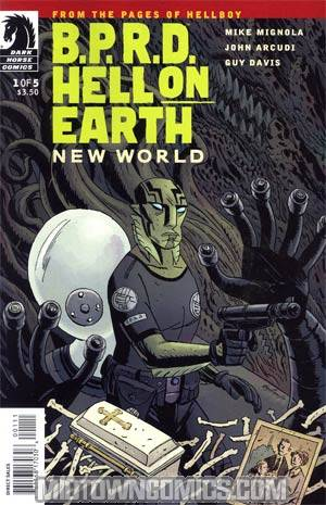 BPRD Hell On Earth New World #1