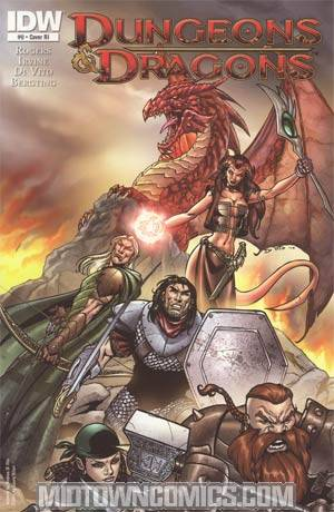 Dungeons & Dragons #0 Cover C Incentive Andrea Di Vito Variant Cover