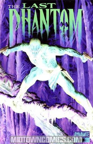 Last Phantom #1 Incentive Alex Ross Negative Art Jungle Cover