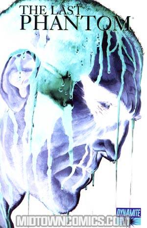 Last Phantom #1 Incentive Alex Ross Negative Art Close-Up Cover