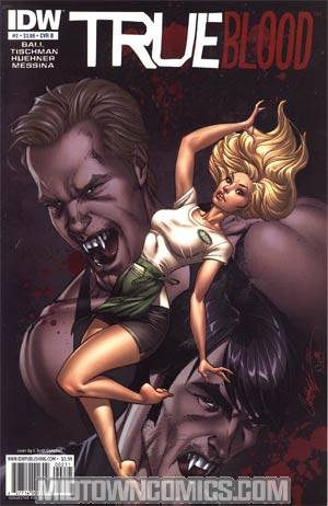 True Blood #2 1st Ptg Regular Cover B
