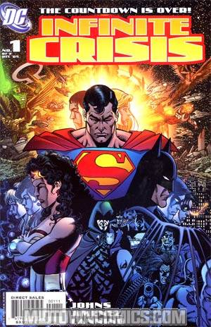 Infinite Crisis Mini-Series Complete 7-Issue Set George Perez Covers