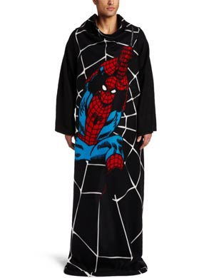Spider-Man Swings Adult Throw With Sleeves