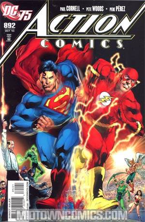 Action Comics #892 Cover B Incentive DC 75th Anniversary By Ivan Reis Variant Cover