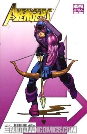 Avengers Vol 4 #4 Incentive John Romita Jr Variant Cover
