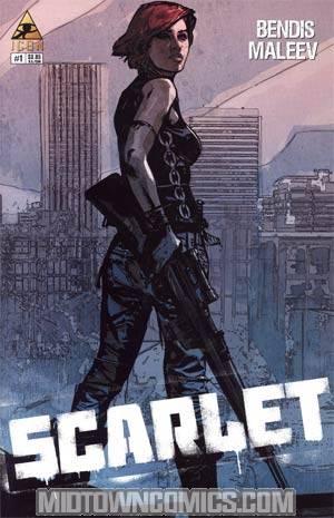 Scarlet #1 2nd Ptg Alex Maleev Variant Cover
