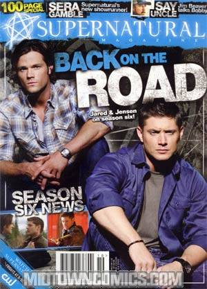 Supernatural Magazine #19 Special Newsstand Edition
