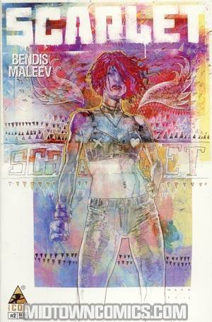 Scarlet #2 Incentive David Mack Variant Cover