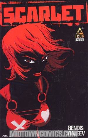Scarlet #2 Incentive Michael Avon Oeming Variant Cover