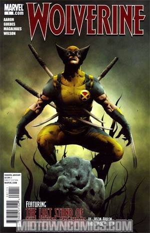 Wolverine Vol 4 #1 Regular Jae Lee Cover (Wolverine Goes To Hell Tie-In)