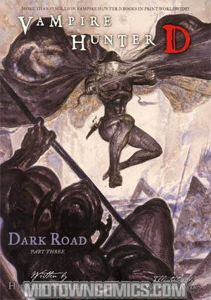 Vampire Hunter D Novel Vol 15 Dark Road Part 3 SC