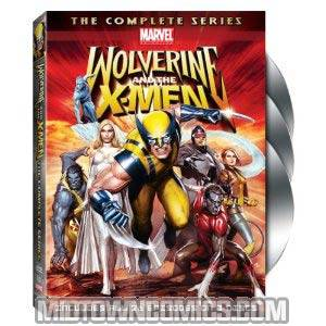 Wolverine And The X-Men Complete Series DVD