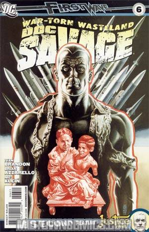 Doc Savage Vol 4 #6 Regular JG Jones Cover
