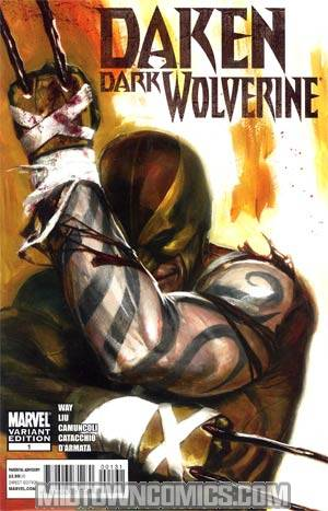 Daken Dark Wolverine #1 Incentive Gabriele Dell Otto Variant Cover (Wolverine Goes To Hell Tie-In)