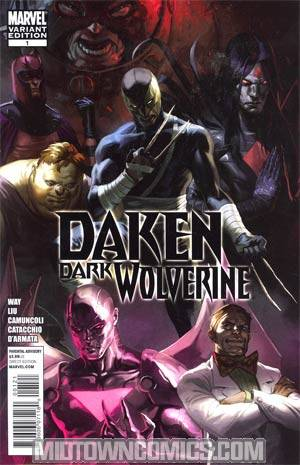 Daken Dark Wolverine #1 Incentive Marko Djurdjevic Variant Cover (Wolverine Goes To Hell Tie-In)