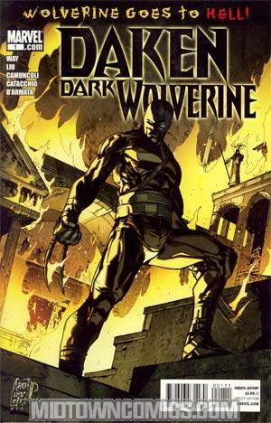 Daken Dark Wolverine #1 1st Ptg Regular Giuseppe Camuncoli Cover (Wolverine Goes To Hell Tie-In)