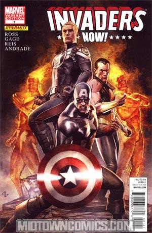 Invaders Now #1 Incentive Adi Granov Variant Cover