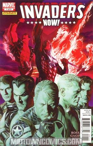 Invaders Now #1 Regular Alex Ross Cover