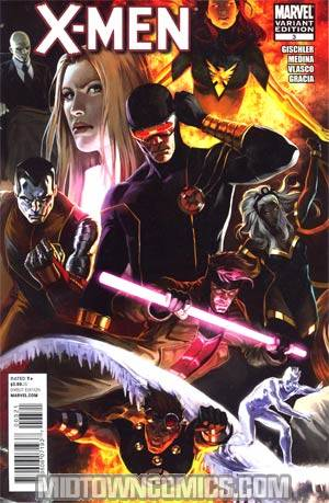 X-Men Vol 3 #3 Incentive Marko Djurdjevic Variant Cover (X-Men Curse Of The Mutants Tie-In)