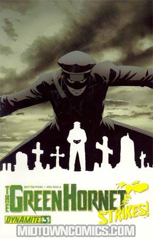 Green Hornet Strikes #3 Regular John Cassaday Cover