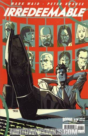Irredeemable #17 Regular Cover B
