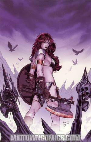 Red Sonja Vol 4 #51 Incentive Paul Renaud Virgin Cover
