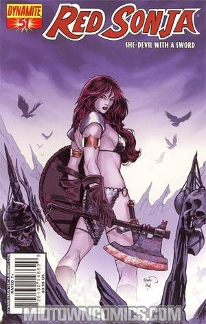Red Sonja Vol 4 #51 Regular Paul Renaud Cover