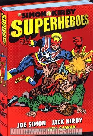 Simon & Kirby Library Superheroes HC