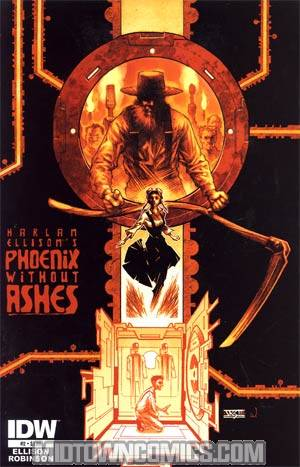 Harlan Ellisons Phoenix Without Ashes #2 Regular John K Snyder III Cover