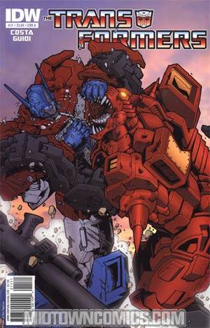Transformers Vol 2 #11 Regular Cover A