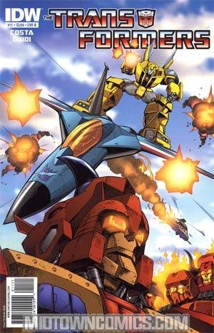 Transformers Vol 2 #11 Regular Cover B