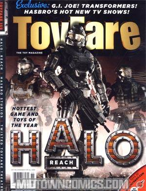 Toyfare #159 Halo Reach Cvr