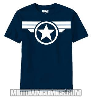Captain America Symbol Good ol Steve Midtown Original T-Shirt Large