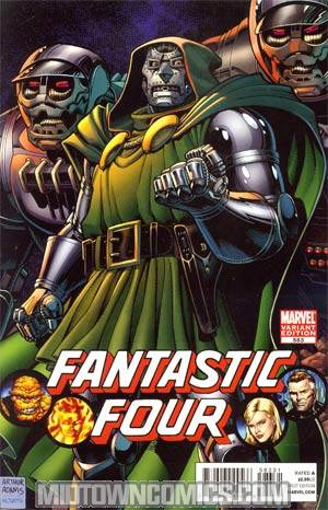 Fantastic Four Vol 3 #583 Incentive Arthur Adams Variant Cover