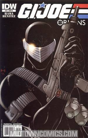GI Joe Origins #19 Incentive Joe Benitez Variant Cover