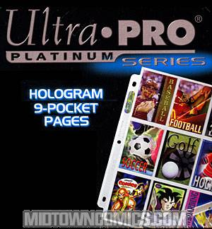 Ultra Pro 9-Pocket Trading Card Sleeves 100-Pack