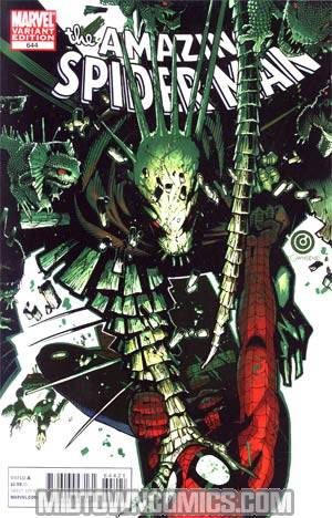 Amazing Spider-Man Vol 2 #644 Incentive Chris Bachalo Variant Cover