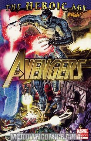 Avengers Vol 4 #4 2nd Ptg John Romita Jr Variant Cover