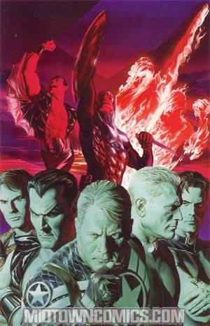 Invaders Now #1 DF Exclusive Alex Ross Virgin Cover