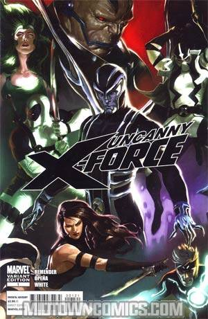 Uncanny X-Force #1 Incentive Marko Djurdjevic Variant Cover