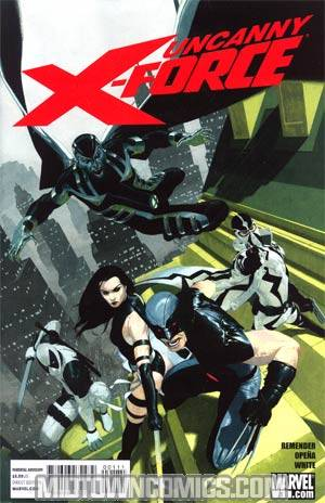 Uncanny X-Force #1 1st Ptg Regular Esad Ribic Cover