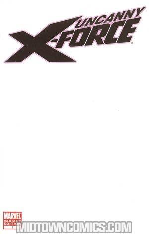 Uncanny X-Force #1 Variant Blank Cover