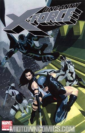 Uncanny X-Force #1 Premiere Edition Variant Cover - Custom Retailer Version