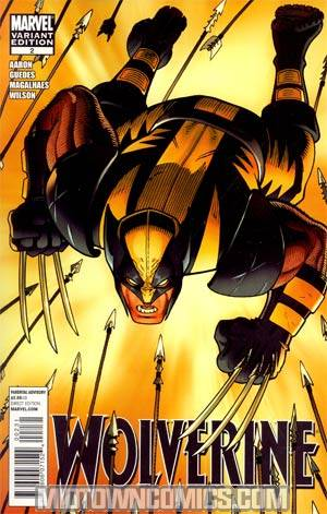Wolverine Vol 4 #2 Incentive Arthur Adams Variant Cover (Wolverine Goes To Hell Tie-In)